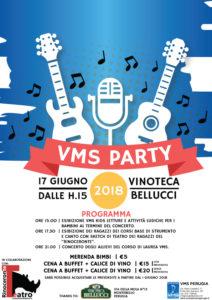 VMS PARTY - Festa di Fine Corsi A.A.2017-2018